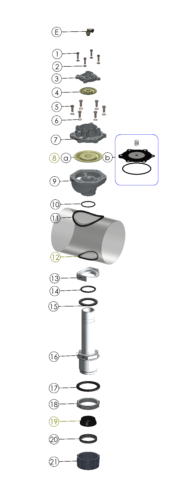 AE2440I06 Con Valvola Pneumatica